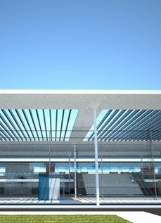 New Airport in Kasteli, Crete (Greece)