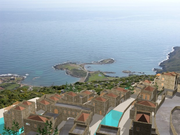 Hotel, Bungalows & Congress Center at Monemvasia (Peloponnese)