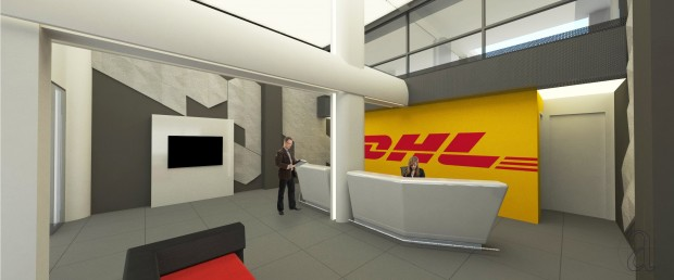 New Offices and Store of DHL in Limassol, Cyprus