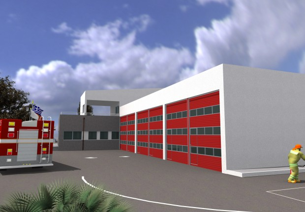 Six Administration Buildings and One Fire brigade Station (Greece)
