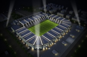 F.C. Hercules New Football Stadium in Thessaloniki, Greece